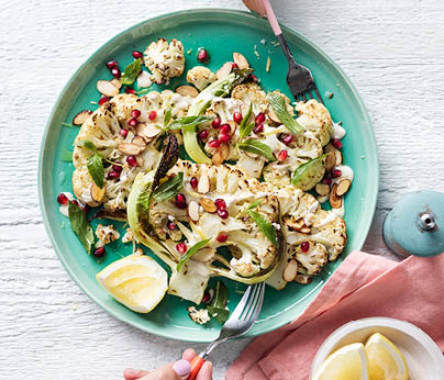 _CH4801_Charter Hall_National_Recipes Xmas 2019_WebTiles_Cauli Steaks With Almonds & Tahini_404x346