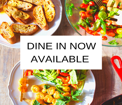 DINE IN NOW AVAILABLE 404x346
